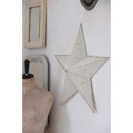 Metalen ster van Jeanne d'Arc Living