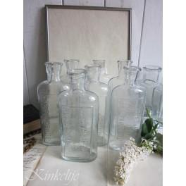 Glazen flesje van Jeanne d'Arc Living