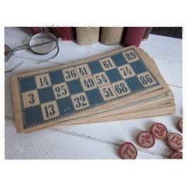 Oude bingo kaarten