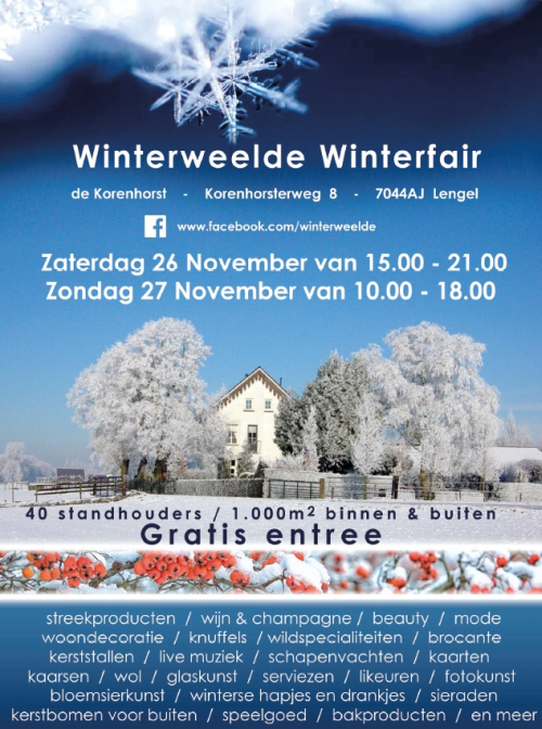 Winterweelde Winterfair 2016